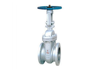 Handwheel Operated Rising Stem Gate Valve , Carbon Steel Gate Valve OEM Accepted