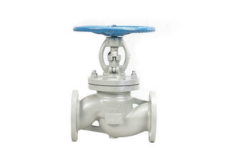 WCB Manual Stainless Steel Globe Valve , Flanged Water Gate Valve DN100 Face To Face